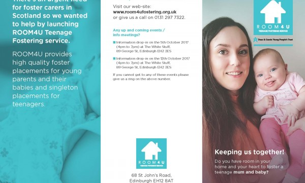 New mother and baby leaflet